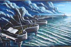 Poolbeg Piano   (Sold)