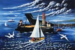 Lighthouse Sonata.    (Sold)